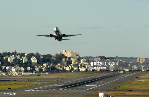 Take-off and runway, Boston