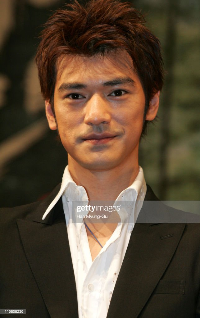 <a gi-track='captionPersonalityLinkClicked' href=/galleries/search?phrase=Takeshi+Kaneshiro&family=editorial&specificpeople=171924 ng-click='$event.stopPropagation()'>Takeshi Kaneshiro</a> during 'Lovers' - Seoul Press Conference at Seoul Shilla Hotel in Seoul City, Seoul, South Korea.