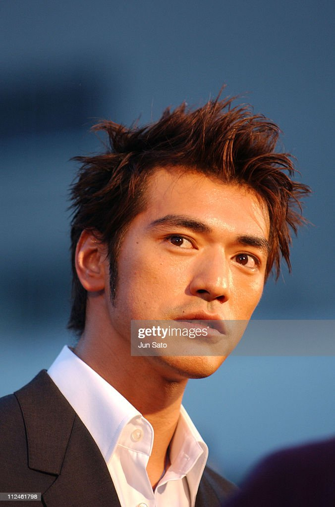 <a gi-track='captionPersonalityLinkClicked' href=/galleries/search?phrase=Takeshi+Kaneshiro&family=editorial&specificpeople=171924 ng-click='$event.stopPropagation()'>Takeshi Kaneshiro</a> during 'Lovers' Tokyo Premiere - Arrivals at NHK Hall in Tokyo, Japan.