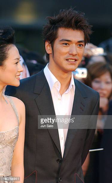 Takeshi Kaneshiro during 'Lovers' Tokyo Premiere Arrivals at NHK Hall in Tokyo Japan