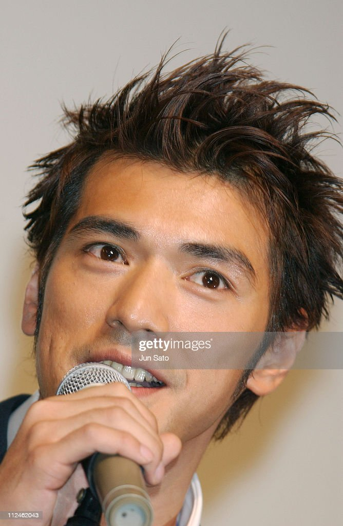 <a gi-track='captionPersonalityLinkClicked' href=/galleries/search?phrase=Takeshi+Kaneshiro&family=editorial&specificpeople=171924 ng-click='$event.stopPropagation()'>Takeshi Kaneshiro</a> during 'Lovers' Tokyo Premiere - Inside at NHK Hall in Tokyo, Japan.