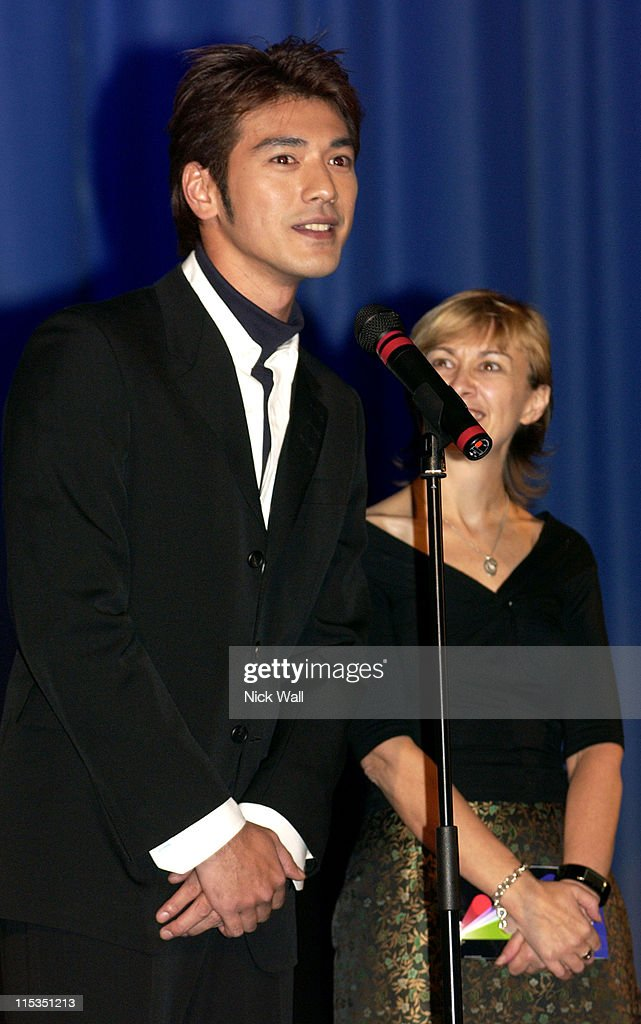 <a gi-track='captionPersonalityLinkClicked' href=/galleries/search?phrase=Takeshi+Kaneshiro&family=editorial&specificpeople=171924 ng-click='$event.stopPropagation()'>Takeshi Kaneshiro</a> during The Times BFI London Film Festival 2004 - 'House of Flying Daggers' - Family Gala at The Odeon West End in London, Great Britain.