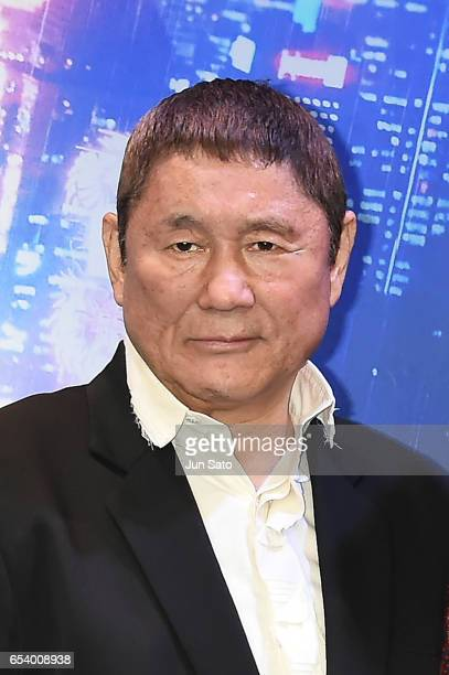 Takeshi Kitano attends the official press conference ahead of the World Premiere of the Paramount Pictures release 'Ghost In The Shell' at the Ritz...