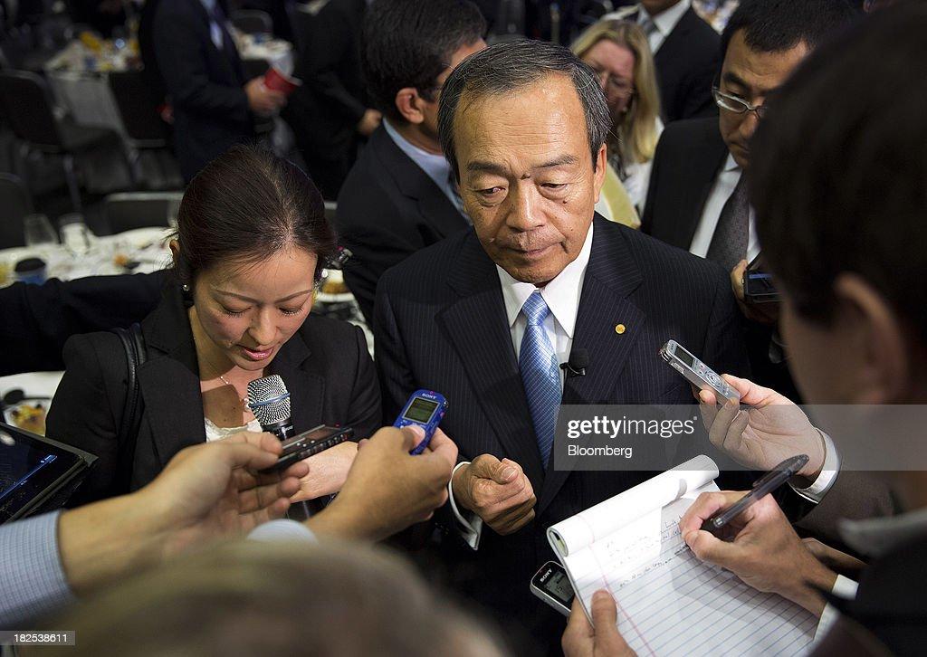 Takeshi uchiyamada getty images for Toyota motor corporation address