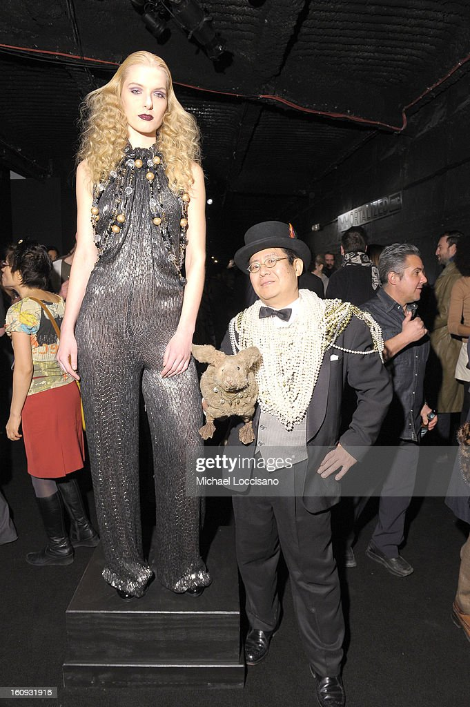 Takeshi Yamada attends Immortal Love Pop-up Experience - Freakshow & Immortalized on February 7, 2013 in New York City.