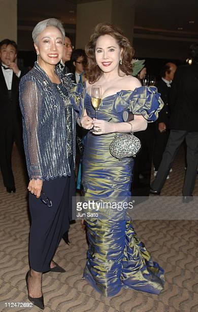 Taki Koto and Dewi Sukarno during BVLGARI 'Brilliant Dreams Award 2006' Inside at Grand Hyatt Tokyo in Tokyo Japan