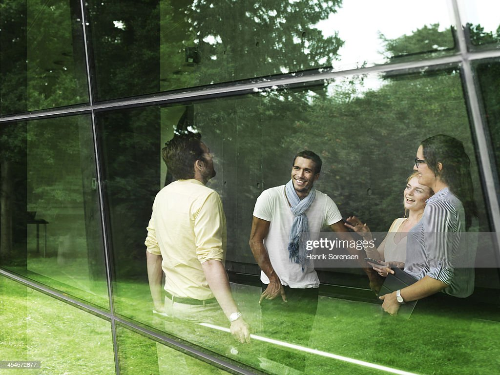 Taking a break : Stock Photo