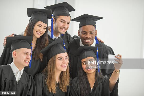 Taking a Selfie After Graduation