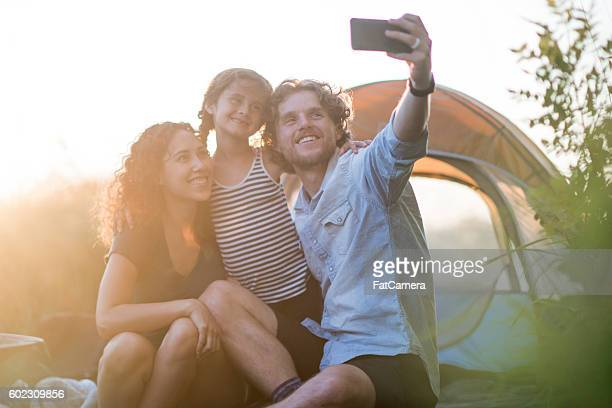 Taking a Selfie During Vacation