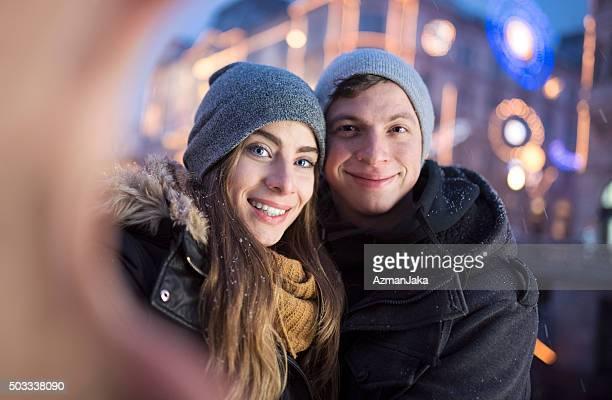 Eine selfie in der Altstadt