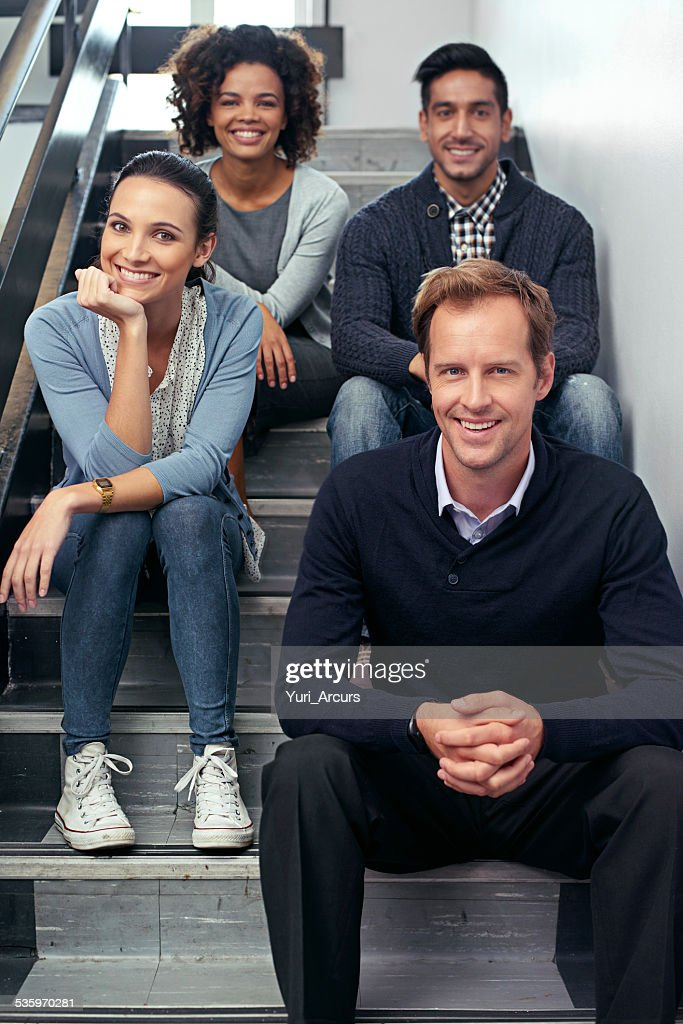 Taking a team timeout : Stock Photo
