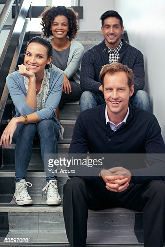 Taking a team timeout : Stock Photo