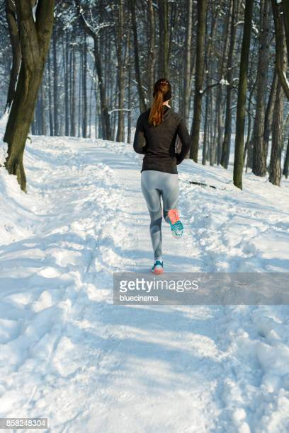 Nehmen einen Winter laufen
