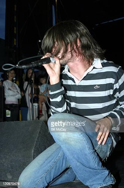 Taking Back Sunday during 2004 Vans Warped Tour Philadelphia at Tweeter Center in Philadelphia New Jersey United States
