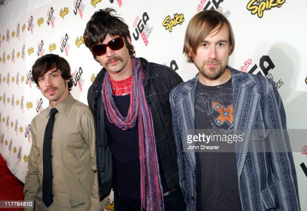 Taking Back Sunday during 2005 Spike TV Video Game Awards Red Carpet at Gibson Amphitheater in Universal City California United States