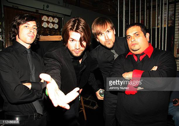 Taking Back Sunday during Boost Mobile RockCorps Concert at NYC's Radio City Music Hall Inside September 23 2006 at Radio City in New York City New...