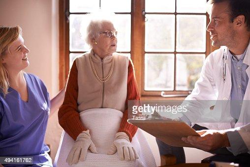 お客様のは、患者の全体的な幸福の
