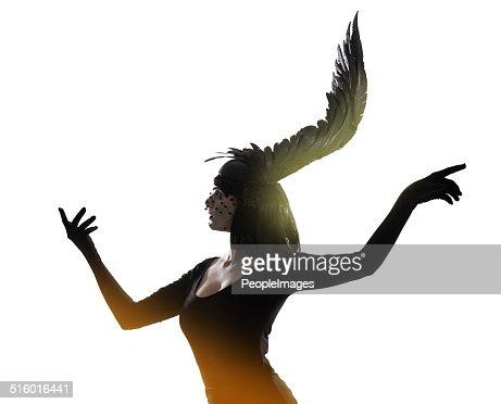 La moda volo di fantasia : Foto stock