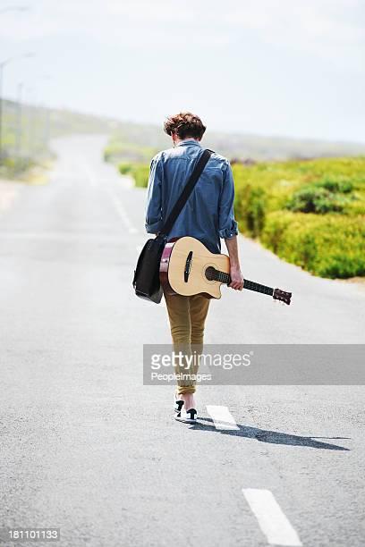 Ma musique sur la route