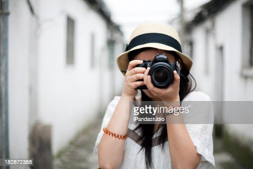 Taking photos with a DSLR
