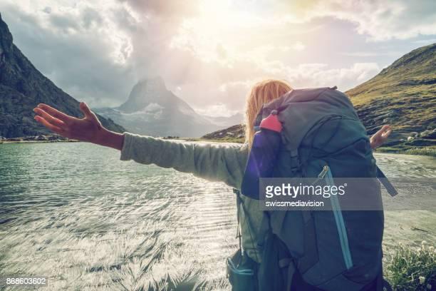 Taking the time to breathe it all in, Matterhorn, Switzerland