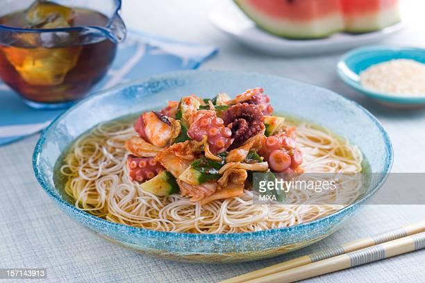 Tako Kimchi Somen