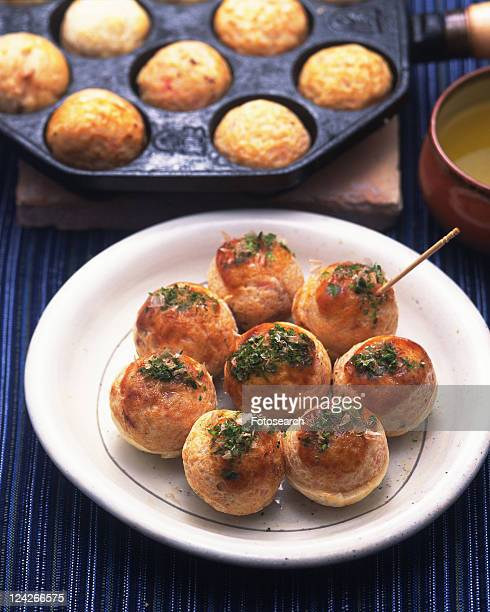 Takoyaki, High Angle View, Differential Focus