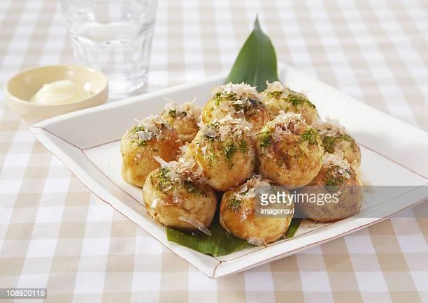 Takoyaki, Japanese octopus dumpling