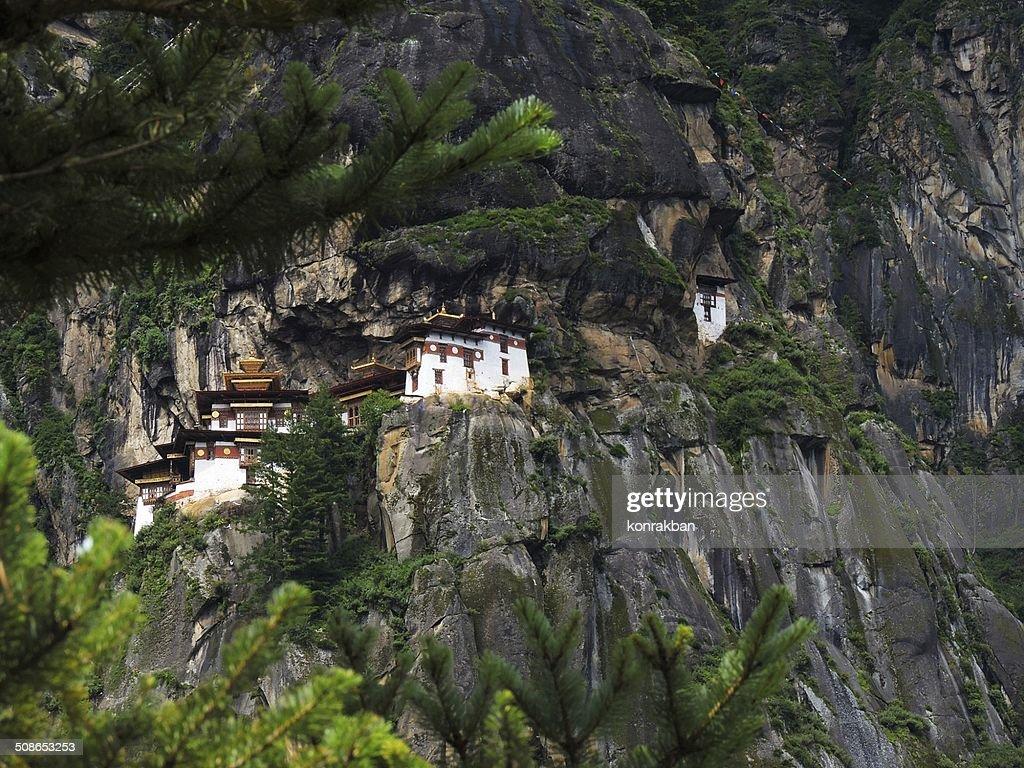 Taktshang Goemba, Bhutan : Stock Photo