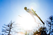 Taku Takeuchi of Japan competes during the first run of the FIS Ski Jumping World Cup at Planica on March 18 2016 in Planica Slovenia