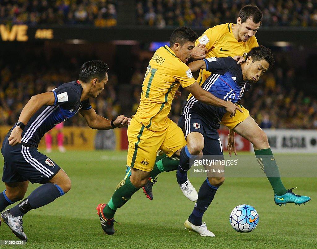 Australia v Japan - 2018 FIFA World Cup Qualifier