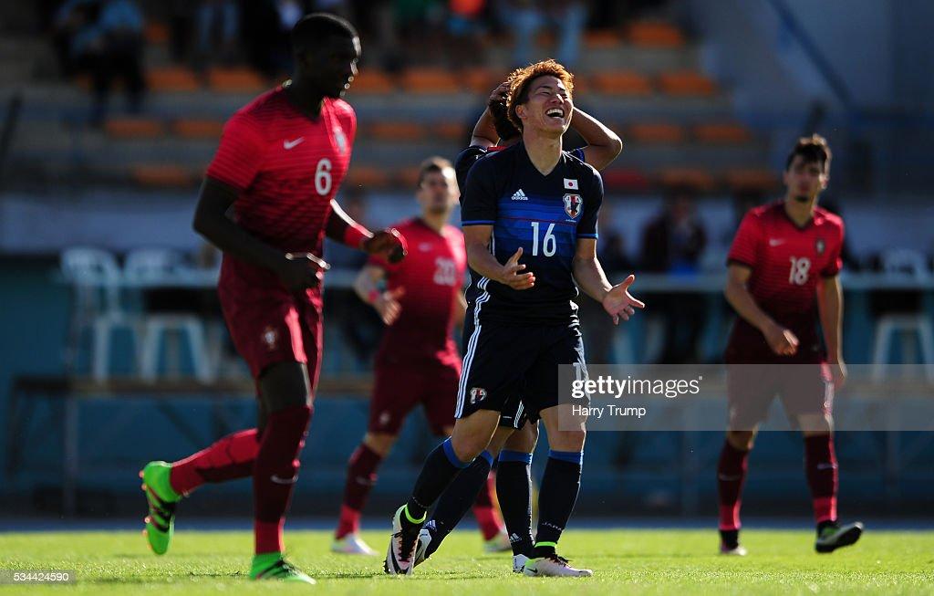 Japan v Portugal - Toulon Tournament
