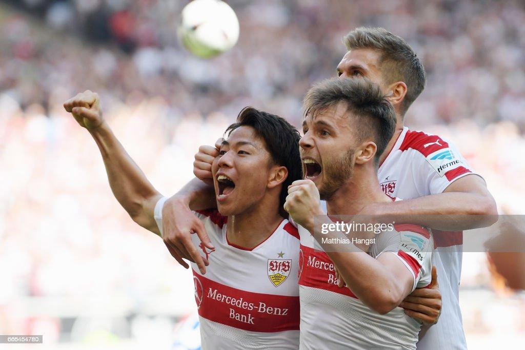 VfB Stuttgart v Karlsruher SC - Second Bundesliga