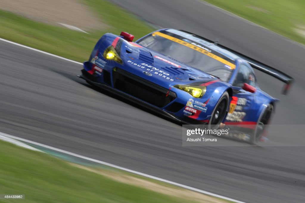 Takuto Iguchi of Japan and SUBARU BRZ RD SPORT during the 2014 AUTOBACS GT Round 6 43rd International 1000km Final Race at Suzuka Circuit on August...