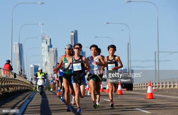 Takuya Noguchi from Japan during the Gold Coast Marathon on July 2 2017 in Gold Coast Australia