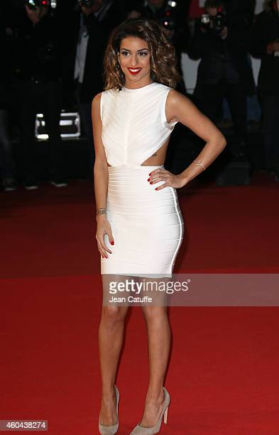 Tal arrives at the16th NRJ Music Awards held at the Palais des Festivals on the Croisette Avenue on December 13 2014 in Cannes France