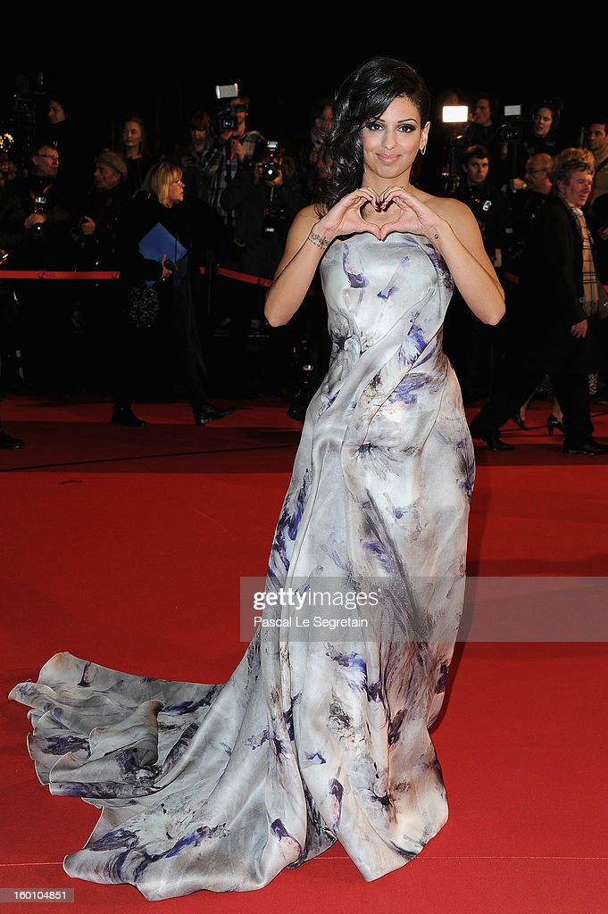 Tal attends the NRJ Music Awards 2013 at Palais des Festivals on January 26, 2013 in Cannes, France.