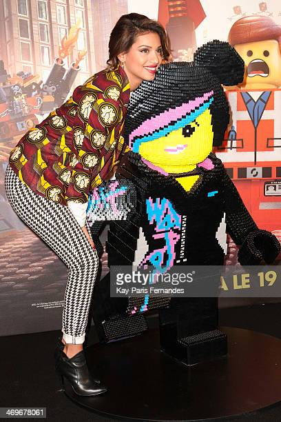 Tal attends the 'The Lego Movie' Paris Premiere at Cinema Gaumont Capucine on February 16 2014 in Paris France