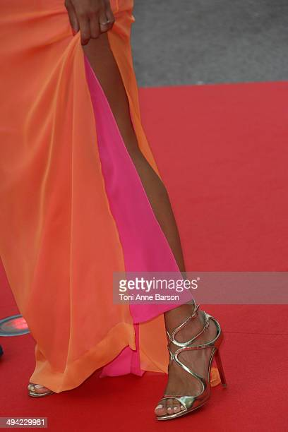 Tal attends the World Music Awards 2014 at Sporting MonteCarlo on May 27 2014 in MonteCarlo Monaco
