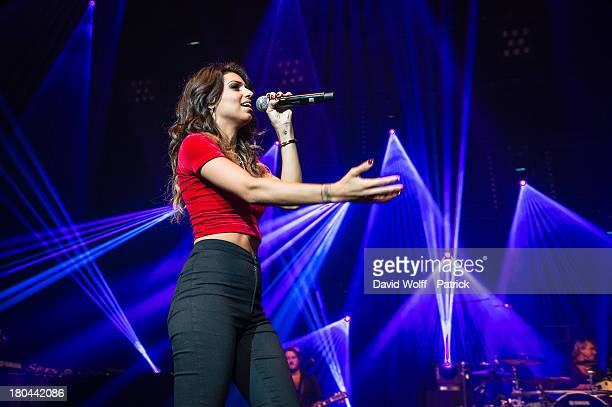 Tal performs at L'Olympia on September 12 2013 in Paris France