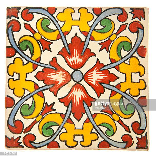 Talavera Handcrafted Mexican Ceramic Tile