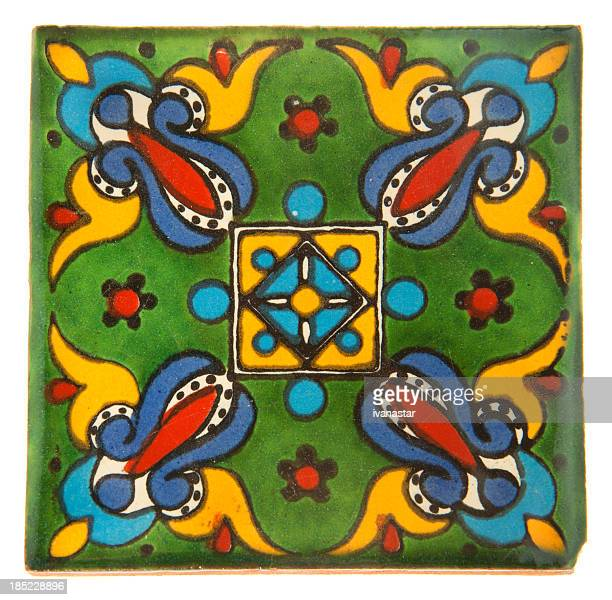 Talavera Handcrafted Mexican Ceramic Tile