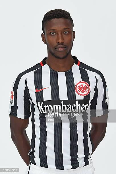 Taleb Tawatha poses during the Eintracht Frankfurt Team Presentation on July 21 2016 in Frankfurt am Main Germany