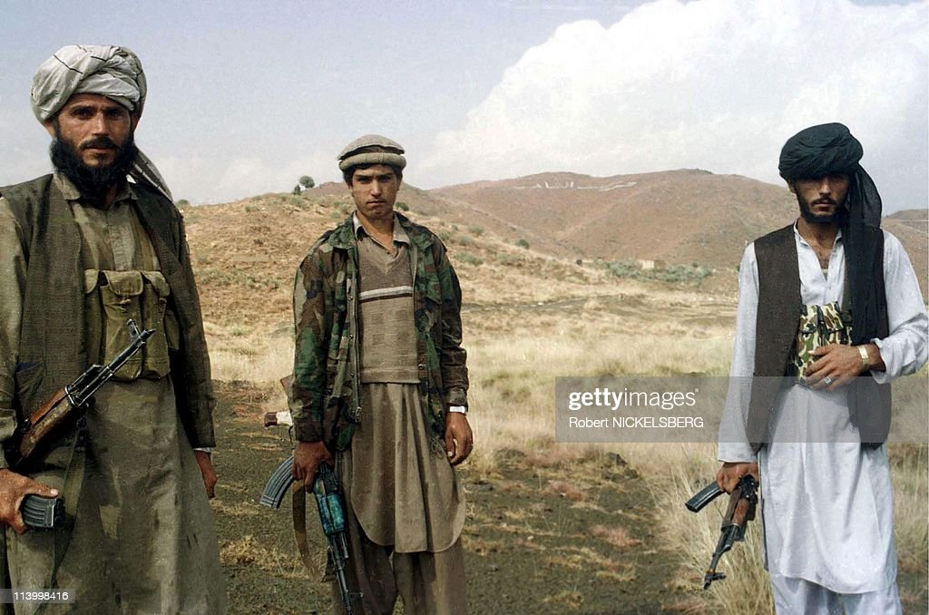 Taleban training camp destroyed by US rockets In Khost, Afghanistan In May, 1997-Pakistani militant of the Harkat Ul Mujahideen.