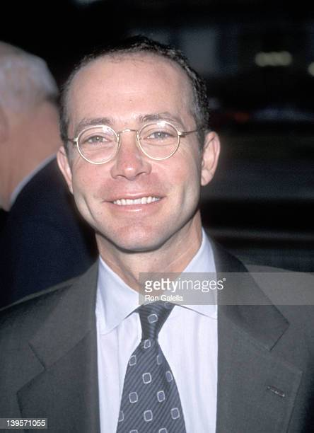 Talent agent Richard Lovett attends 'The Love Letter' Century City Premiere on May 13 1999 at Cineplex Odeon Century Plaza Cinemas in Century City...
