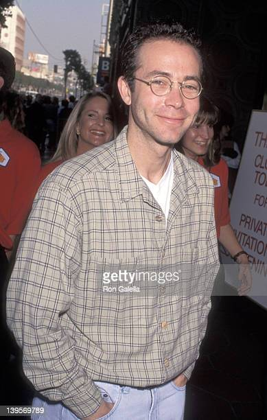 Talent agent Richard Lovett attends the 'Toy Story' Hollywood Premiere on November 19 1995 at El Capitan Theatre in Hollywood Caifornia