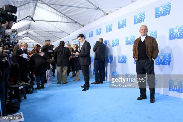 Talent Agent Ronald Meyer attends 'The Boss Baby' New York Premiere at AMC Loews Lincoln Square 13 theater on March 20 2017 in New York City