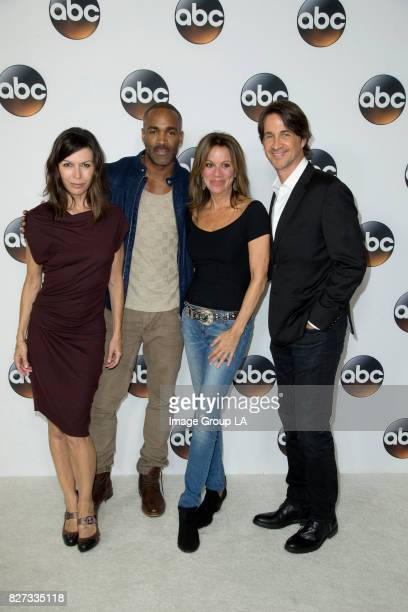 TOUR 2017 Talent executives and showrunners from ABC arrived at the Beverly Hills Ballroom of The Beverly Hilton in Beverly Hills at Disney | ABC...