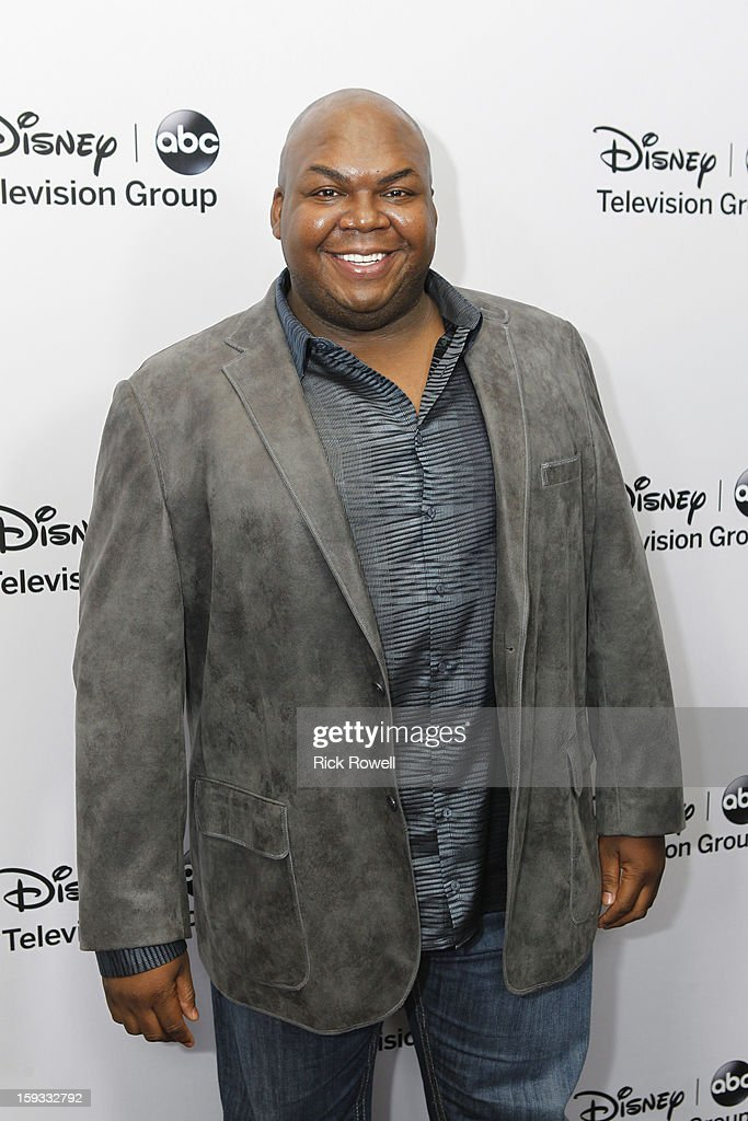 TOUR 2013 - Talent, executives and showrunners from ABC and ABC Family arrived at the Viennese Ballroom of The Langham Hotel in Pasadena at Disney | ABC Television Group's All-Star Cocktail Reception on January 10, 2013. WINDELL