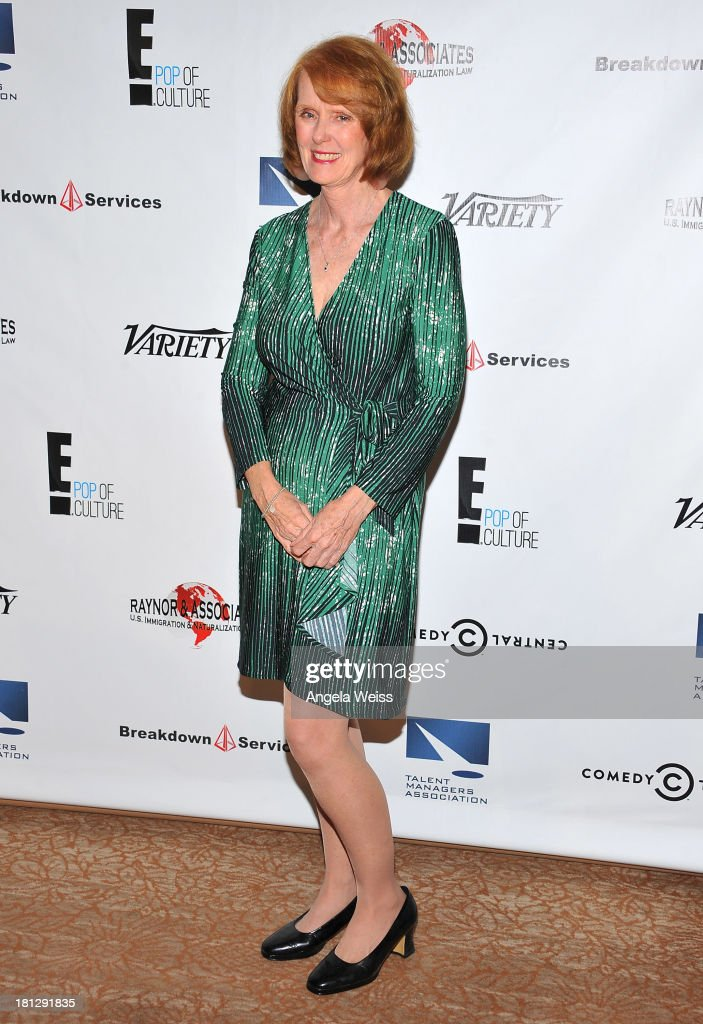 Talent manager Betty McCormick attends the 12th Annual Heller Awards at The Beverly Hilton Hotel on September 19, 2013 in Beverly Hills, California.